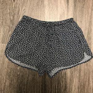 Brandy Melville Cotton Print Shorts